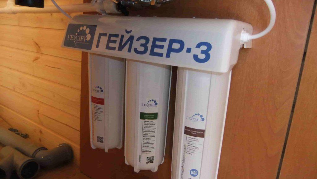 Установка фильтров воды в Орехово-Зуево