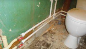 Поменять трубы в ванной, туалете орехово-зуево